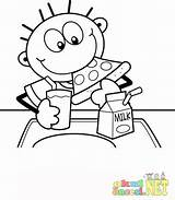 Cafeteria Lunch Coloring Pages Zippy Template sketch template