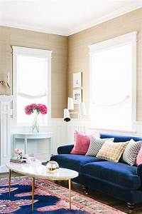 blush and navy interior ideas feature the trend in