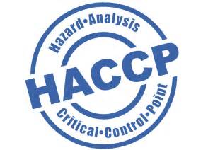 HACCP - Hazard analysis and critical control points