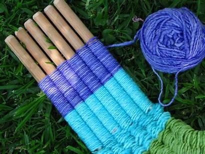 Weaving Loom Stick Sticks Tutorial Creative Crafts