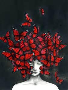 Surreal Art Butterflies