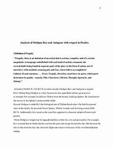 Antigone Analysis Essay Compare Contrast Essays Antigone Analysis  Antigone Literary Analysis Essay How To Write A Essay Proposal also Critical Analysis Essay Example Paper  Engineering Assignment Help