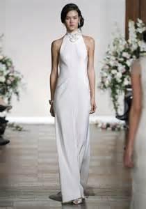 sleek wedding dresses sleek and simple wedding gowns for the modern weddingbells
