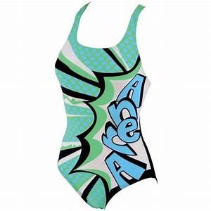Maillot De Bain Classe : maillot de bain femme une pi ce vert imprim tag marseille arena 2013 ~ Farleysfitness.com Idées de Décoration