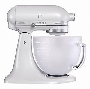 Kitchen Aid Farben : kitchenaid robot kitchenaid artisan blanc givr avec bol en verre 5ksm156efp 5ksm156efp ~ Watch28wear.com Haus und Dekorationen