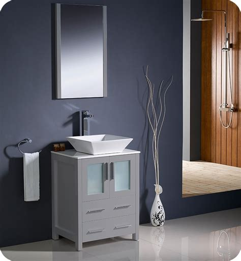An undermount sink may be an ideal option for a smaller vanity, as it maximizes the amount of free counterspace you have. Bathroom Vanities | Buy Bathroom Vanity Furniture ...