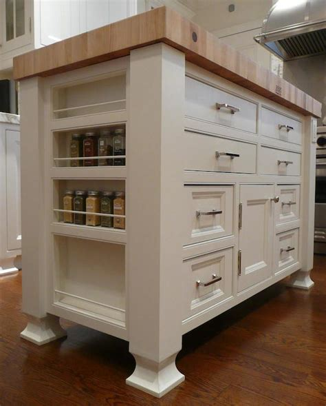 free standing kitchen islands with seating for 4 island spice rack transitional kitchen the renovated