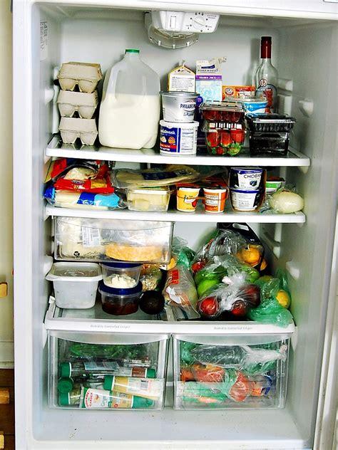 stocking  kitchen refrigerator freezer staples