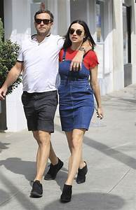 Crystal Reed With Her Long Time Boyfriend Darren McMullen ...