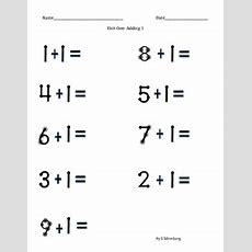 Touch Math Addition Adding 1 By Sophie's Stuff Tpt