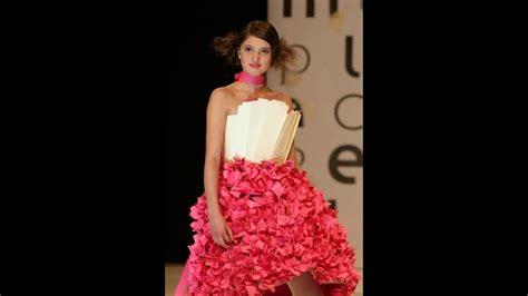 vestimenta con materiales reciclables youtube