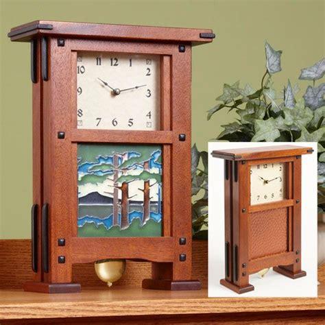 greene greene style clock woodworking plan  wood