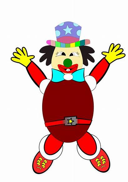 Clown Cartoon Transparent Background Illustration Python Monty