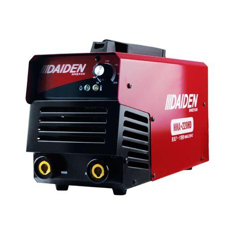 daiden welding inverter machine mesin las mma 220hd