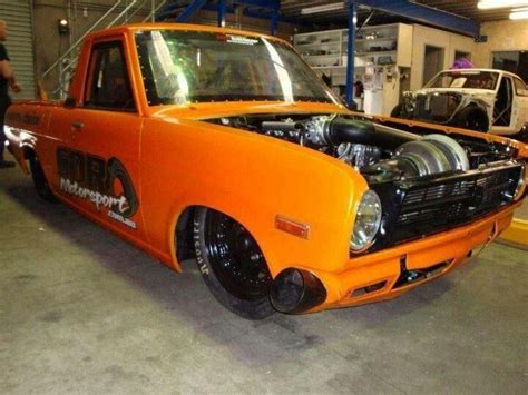 Turbocharged Drag Cars by Turbocharged Datsun Truck On Steroids Truck