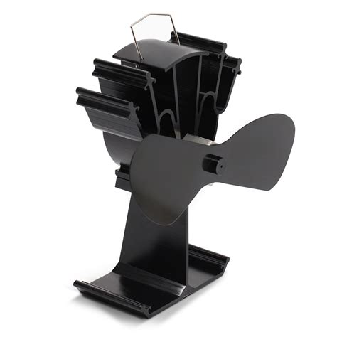 fan for wood stove top kenley heat powered stove top fan for wood log coal fire