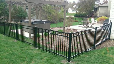 iron fence ideas front yard metal fencing