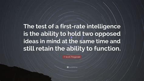 scott fitzgerald quote  test    rate
