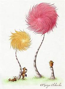 loveee those truffula trees | illustrations and characters ...