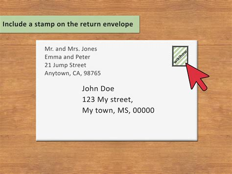 how to address an envelope 3 ways to address an envelope to a family wikihow