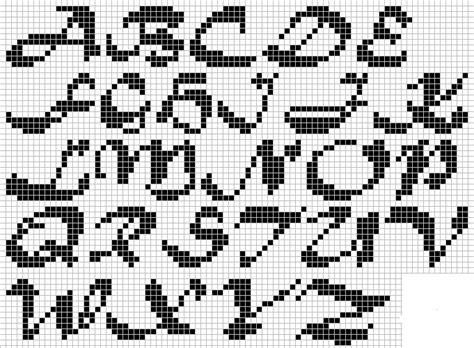 patrones punto de letras grandes imagui pt punto de bordados en punto y punto