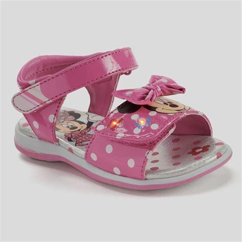 Disney Minnie Mouse Girls 39 Sandals Light Up Sz