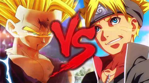 Goku Vs Vegeta Duelo De Titãs