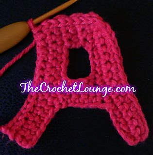 crochet how to crochet letters o s yarn scrap friday ravelry block capital letter a pattern by quot e quot 86920