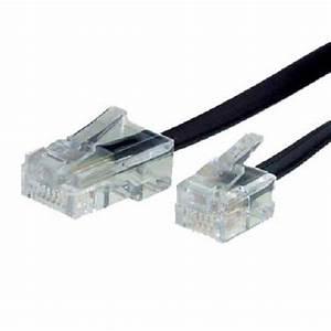 Telefonkabel Als Netzwerkkabel : telefonkabel rj45 rj11 stecker 10 m dsl splitter ~ Watch28wear.com Haus und Dekorationen