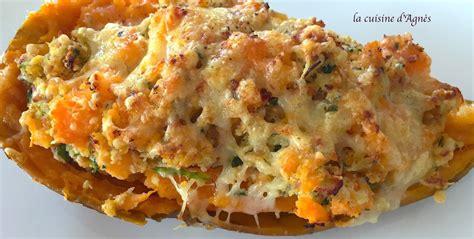 cuisiner patate douce au four patates douces farcies au poulet la cuisine d 39 agnèsla