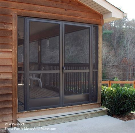 screened in porch doors use your aluminum screen door to maximize curb appeal
