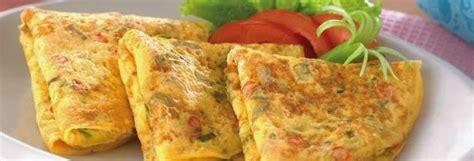 resep  membuat telur dadar enak mudah  menyehatkan
