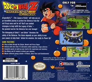 Dragon Ball Z The Legacy Of Goku Details Launchbox