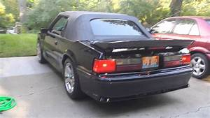Triple Black 1993 Mustang Gt Vert Walkaround