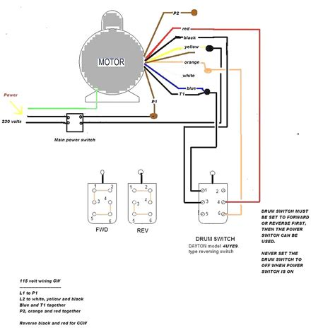 General Electric Induction Motor Wiring Diagram by Dayton Electric Motor Wiring Diagram Impremedia Net
