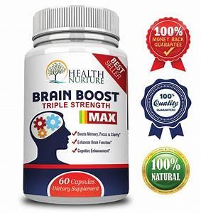 Health Nurture Brain Boost Maximum Strength - Best Brain Supplement