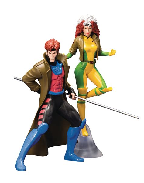 JUN188823 - X-MEN 92 GAMBIT & ROGUE 2PK ARTFX+ STATUE ...