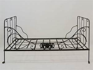 Besonderheiten Von Eisen : bett klappbett metallbett antik um 1890 aus eisen 3025 ebay ~ Yasmunasinghe.com Haus und Dekorationen