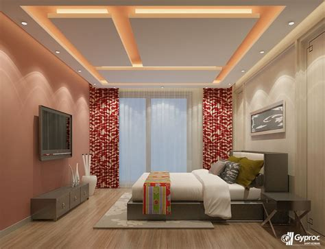 Best Geometric Bedroom Ceiling Designs Images On
