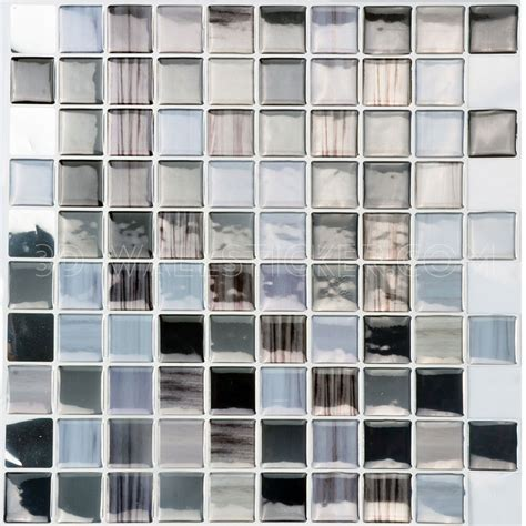 T80245 Self adhesive wall tiles   peel and stick