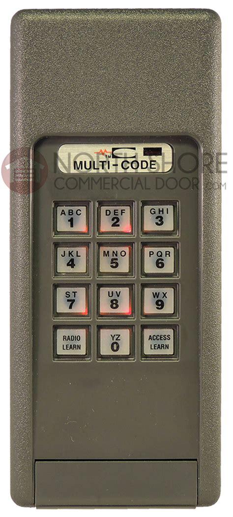 multi code garage door keypad multi code 420001 4200 wireless keypad