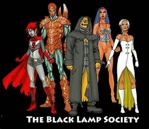 black lamp society group shot by coltnoble on deviantart With the lamplight group
