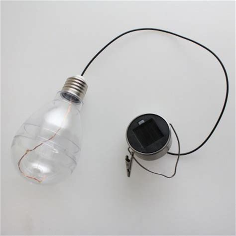 solar powered garden light bulb
