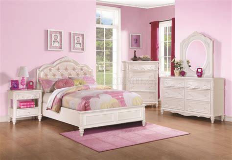 caroline kids bedroom  white  coaster woptions