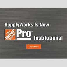 Supplyworks  The Home Depot Pro Institutional  Office
