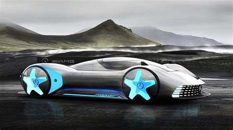 Mercedes-benz Ufo Amg Gt Electric Supercar Concept