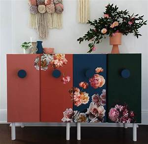 the 25 best ikea sideboard hack ideas on pinterest With best brand of paint for kitchen cabinets with decoupage candle holder