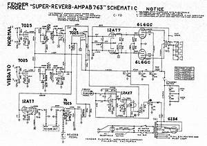 Fender Super Reverb Schematic And Wiring Diagrams