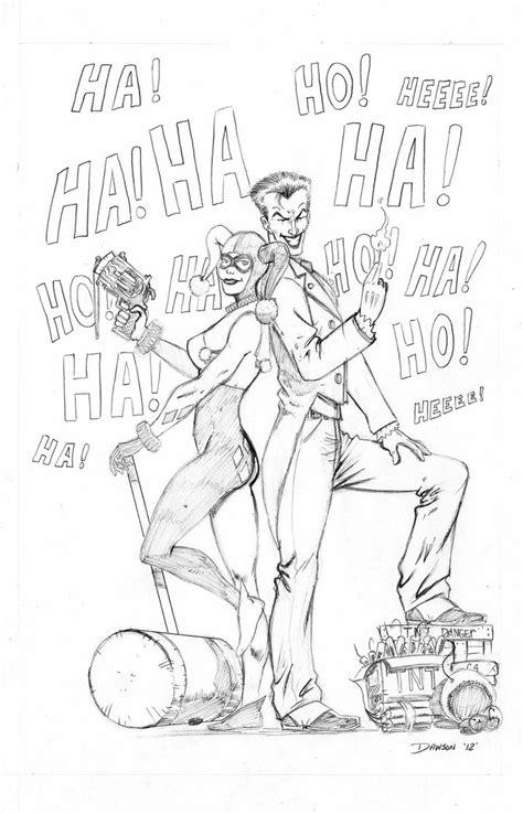 joker  harley quinn  frankdawsonjr  deviantart