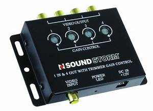 Ssl Sva4 Video Signal Amplifier  Single Source In  Four Outputs  U2013 Audiodia